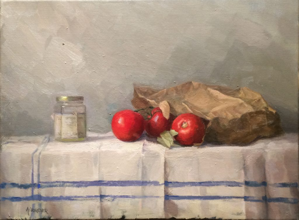 Annette Voreyer, Still Life with Tomatoes